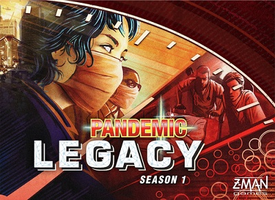 Pandemic: Legacy Season 1: Red Board Game