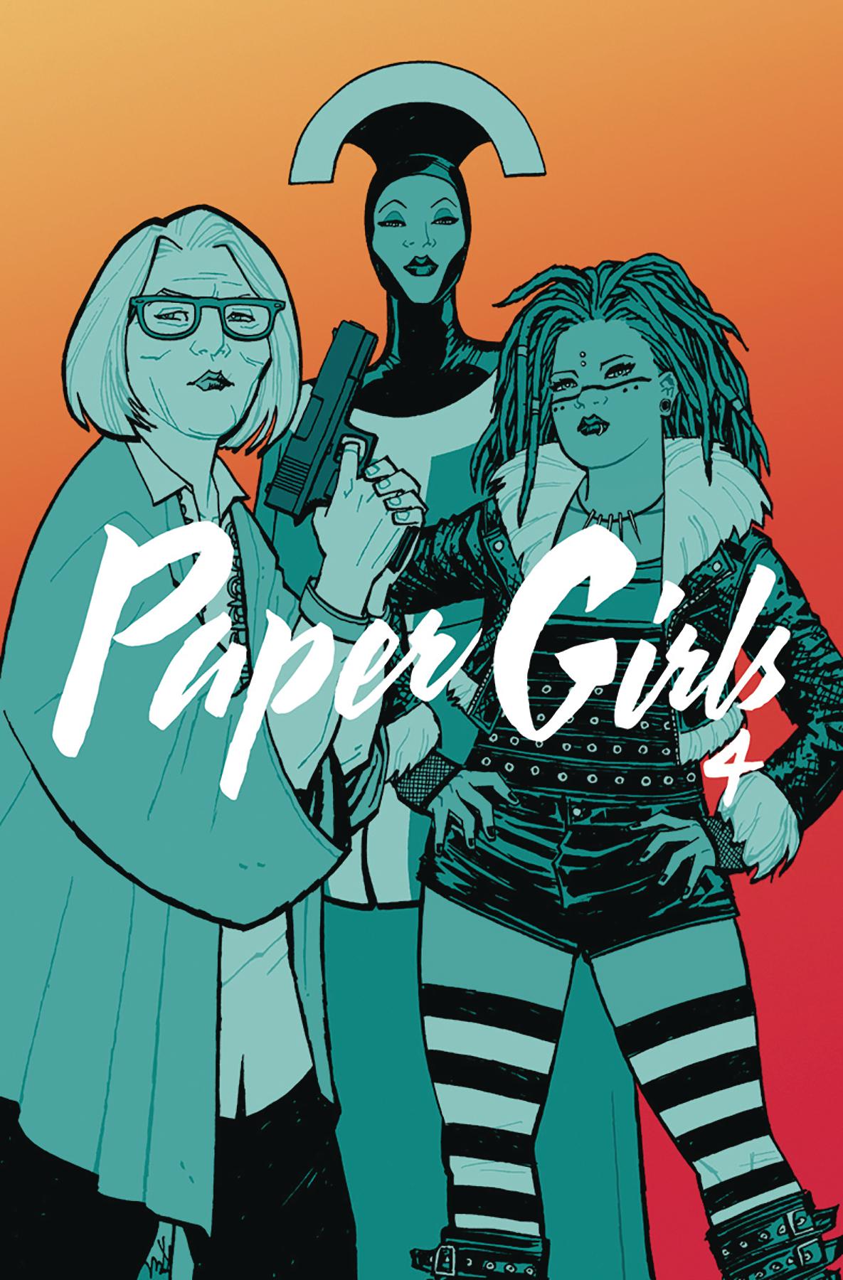 Paper Girls: Volume 4 TP