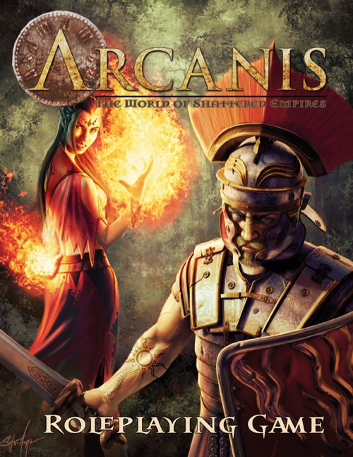 Arcanis Roleplaying Games - Used