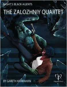 Nights Black Agents: the Zalozhniy Quartet - Used