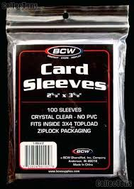 BCW Penny Sleeves - Standard Size - (100 ct) 1-sslv
