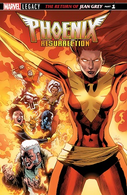 Phoenix Resurrection: Return of Jean Grey no. 1 (1 of 5)