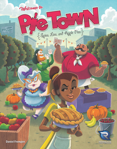 Pie Town Board Game - USED - By Seller No: 1969 David Whitford