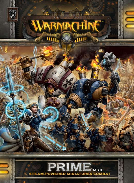 Warmachine: Prime MK II: Steam-Powered Miniatures Combat Soft Cover