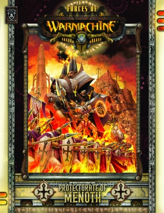 Warmachine: Protectorate of Menoth: Hard Cover