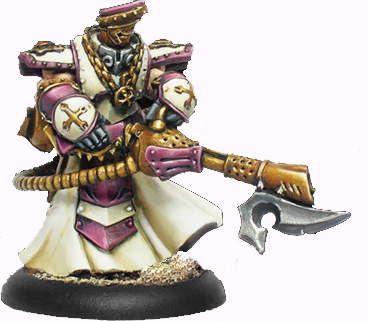 Warmachine: Protectorate of Menoth: Flameguard Cleanser Officer Cleansers: 32075