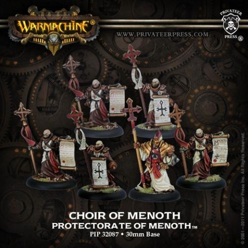 Warmachine: Protectorate of Menoth: Choir of Menoth Unit: 32087