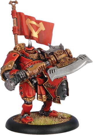Warmachine: Khador: Man-O-War Kovnik: 33024 - Used