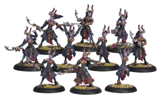 Warmachine: Cryx: Satyxis Blood Witches Unit: 34072