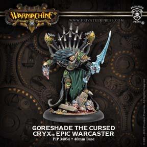 Warmachine: Cryx: Goreshade Lord of Ruin Epic: 34106