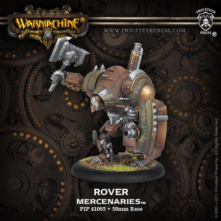 Warmachine: Mercenaries: Heavy Warjack: Rover: Plastic: 41085 - Used