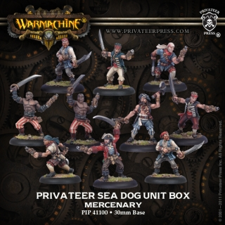 Warmachine: Mercenaries: Sea Dog Crew Unit: 41100