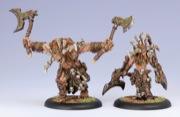 Hordes: Circle Orboros: Warlock Kromac the Ravenous: 72020 - Used