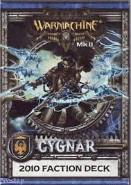 Warmachine: MK II: Cygnar: 2010 Faction Deck: 91046