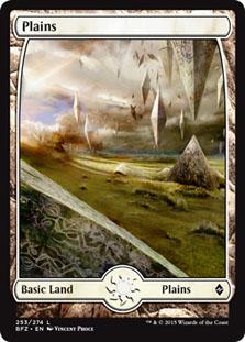 Plains - Battle for Zendikar (Full Art)