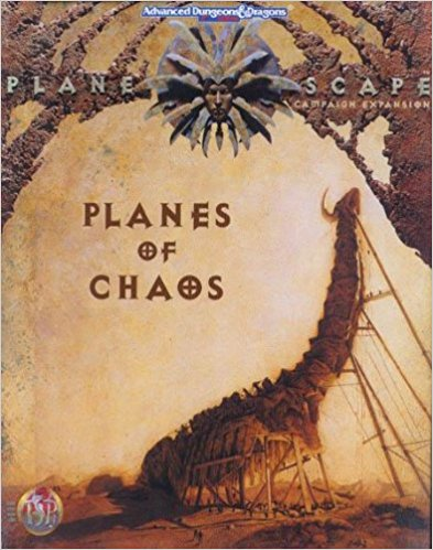 Dungeons and Dragons 2nd ed: Planescape: Planes of Chaos - Used