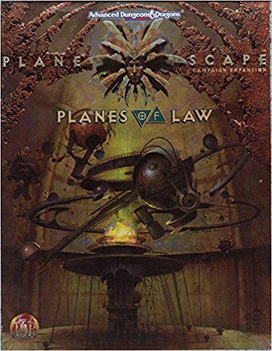 Dungeons and Dragons 2nd ed: Plane Scape: Planes of Law Box Set - Used
