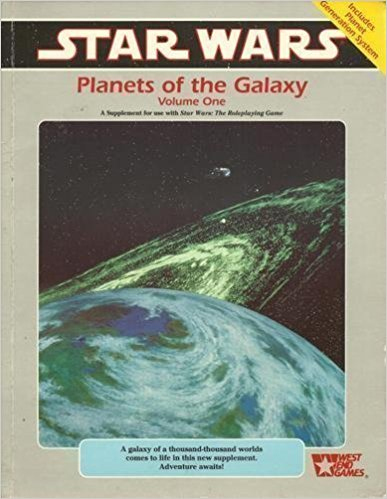 Star Wars RPG Planets of the Galaxy Volume 1 - Used