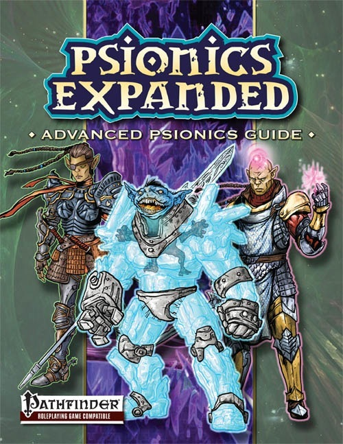 Pathfinder: Psionics Expanded Advance Psionics Guide - Used