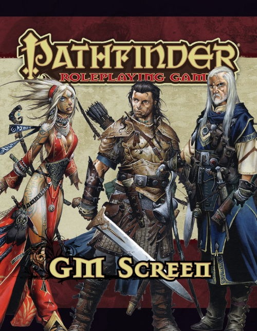 Pathfinder Role Playing Game: GM Screen - USED