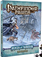 Pathfinder Role Playing game: Reign of Winter Pawn Collection