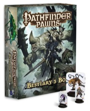 Pathfinder Role Playing Game: Bestiary 3 Box