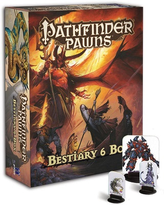 Pathfinder Role Playing Game: Pawns: Bestiary Box 6