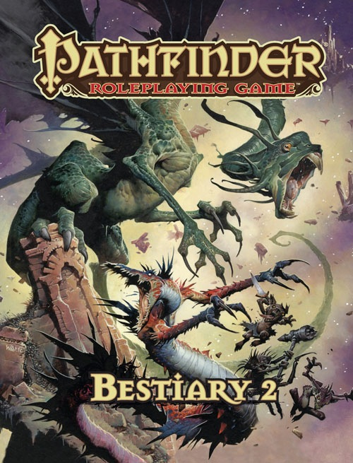 Pathfinder Role Playing Game: Bestiary 2 - Used