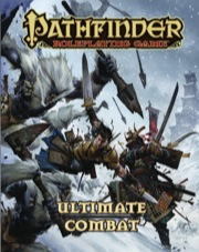 Pathfinder Role Playing Game: Ultimate Combat Hard Cover