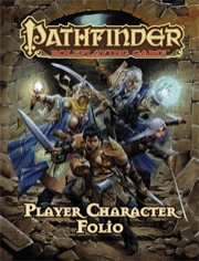 Pathfinder Role Playing Game: Player Character Folio - USED