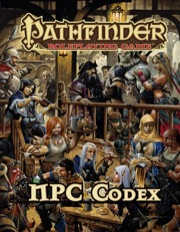Pathfinder Role Playing Game: NPC Codex - Used
