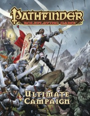 Pathfinder Role Playing Game: Ultimate Campaign HC - Used