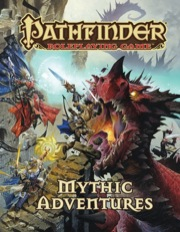 Pathfinder Roleplaying Game: Mythic Adventures HC - Used