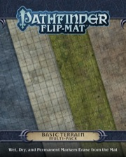 Pathfinder: Game Mastery: Flip-Mat: Basic Terrain Multi-Pack