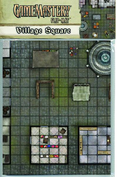 Pathfinder: Game Mastery: Flip-Mat: Village Square