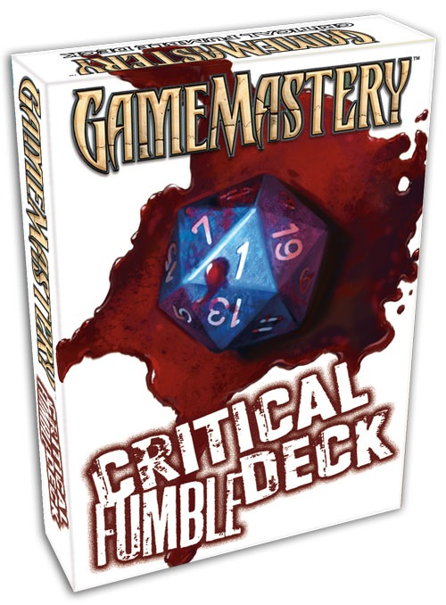 Pathfinder: Game Mastery: Critical Fumble Deck - Used