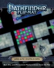 Pathfinder: Game Mastery: Flip-Mat: Arcane Dungeons