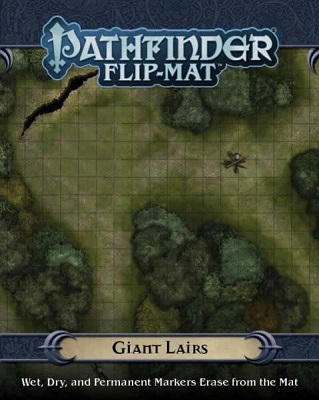 Pathfinder: Game Mastery: Flip-Mat: Giant Lairs