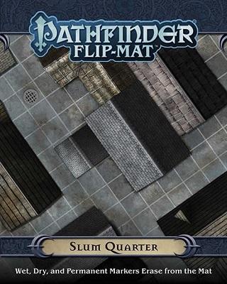 Pathfinder: Game Mastery: Flip-Mat: Slum Quarter