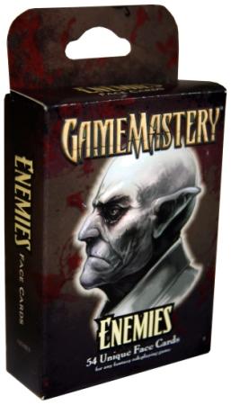 Pathfinder: Game Mastery: Enemies Face Card