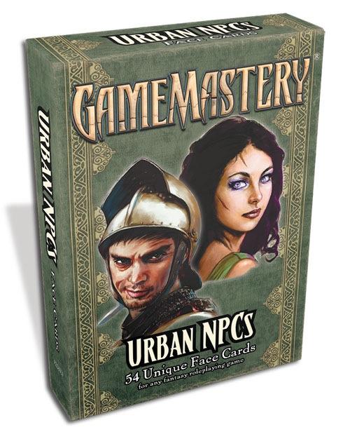 Pathfinder: Game Mastery: Urban NPCs Face Cards