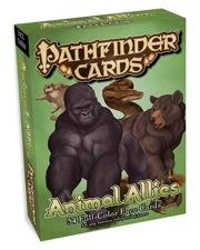 Pathfinder: Cards: Animal Allies Face Cards