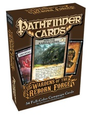 Pathfinder: Cards: Wardens of the Reborn Forge