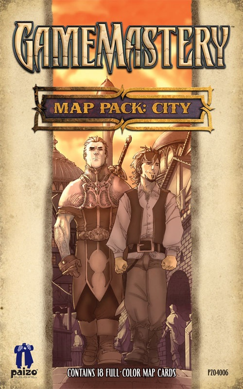 Pathfinder: Game Mastery: Map Pack: City