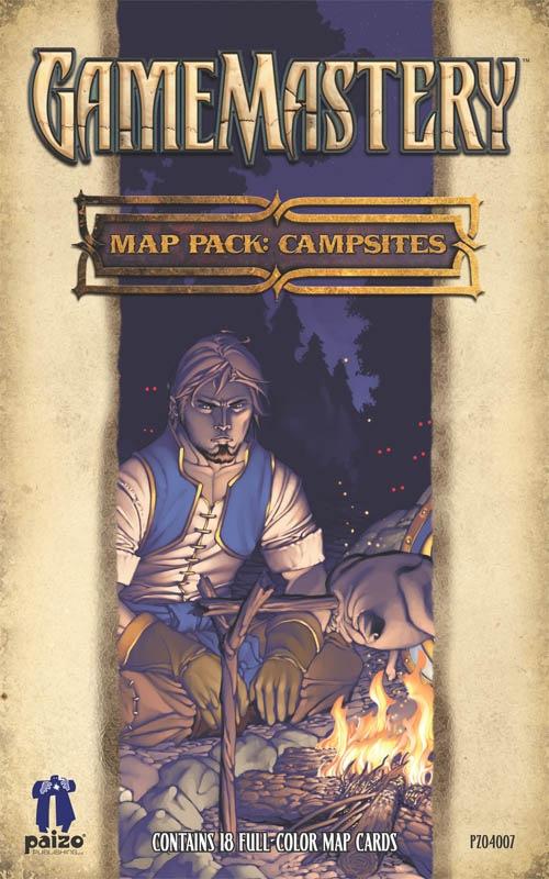 Pathfinder: Game Mastery: Map Pack: Campsites: 4007