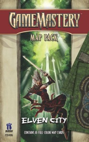 Pathfinder: Game Mastery: Map Pack: Elven City