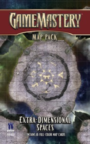 Pathfinder: Game Mastery: Map Pack: Extra-Dimensional Spaces