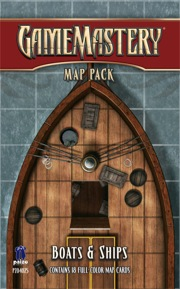 Pathfinder: Game Mastery: Map Pack: Boats and Ships