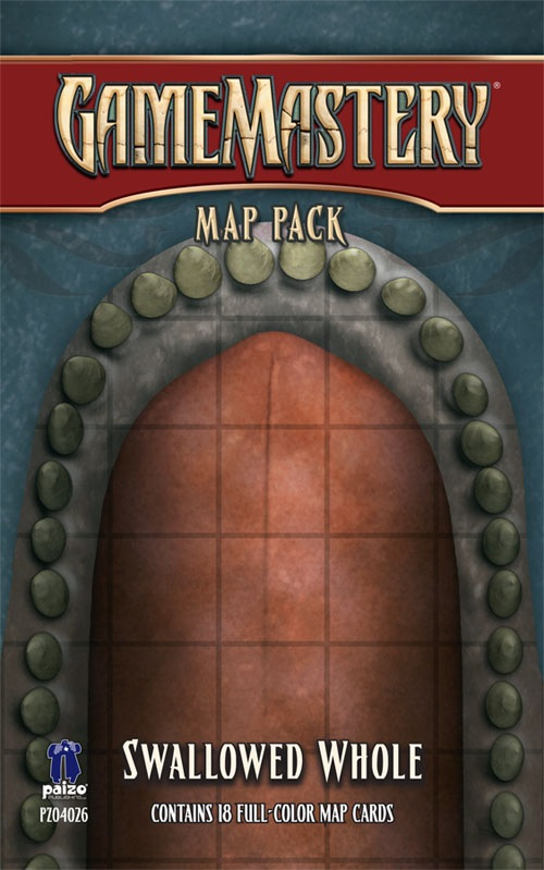 Pathfinder: Game Mastery: Map Pack: Swallowed Whole