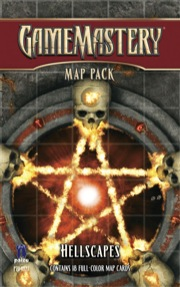 Pathfinder: Game Mastery: Map Pack: Hellscapes